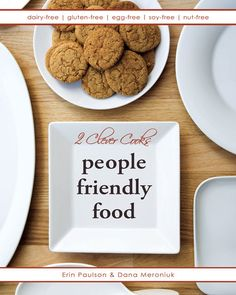 People Friendly Food  allergyfree cookbook by 2CleverCooks on Etsy, $27.95