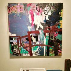"Digging Deep Not Wide 48"" x 48"" oil on canvas #painting #art #contemporaryart #abstract #studio #interiordesign #modern #artcollector #gallery #losangeles #newyork #vancouver"
