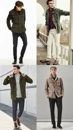 Men's Trending Autumn/Winter 2016 Pieces To Wear: Safari Jackets Outfit…