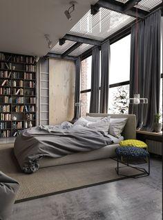 b2666cdf6ac87 📐Industrial Style Apartment by Ruslan Kovalchuk Located in Kiev