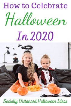 Ways to celebrate Halloween without trick or treating.