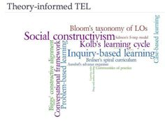 Theory-informed TEL and Connectivism