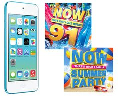Win an Apple iPod touch, NOW 91 & NOW Summer CDs