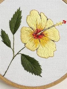 Towel Embroidery, Hand Work Embroidery, Embroidery Flowers Pattern, Embroidery Monogram, Embroidery Hoop Art, Hand Embroidery Designs, Cross Stitch Embroidery, Bordados Tambour, Diy Embroidery For Beginners