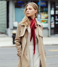 Skinny Scarf - Silk Scarves for Women | Henri Bendel