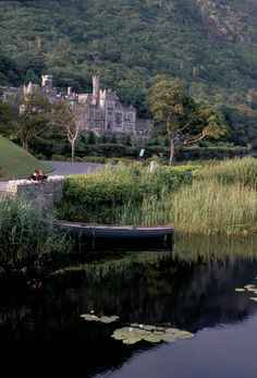 Gifted by Mitchell Henry in 1867 to his wife, Kylemore Abbey depicts romance in epic proportions. Nothing says I love you like an Irish Castle!