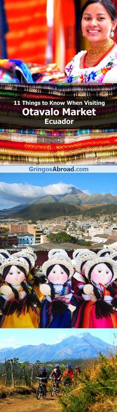 Otavalo market tour Ecuador
