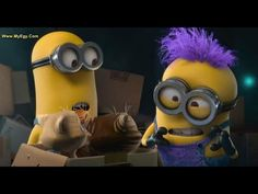 Panic In The Mailroom Funny Minion Videos, Minions, Youtube, Fictional Characters, The Minions, Fantasy Characters, Minions Love, Youtubers, Youtube Movies