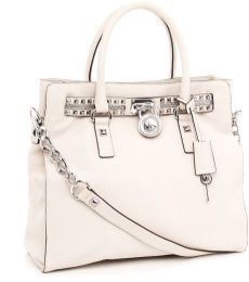 classy with an edge. thank you michael kors! 2014 Trends, Purse Styles, Summer Bags, Large Tote, Handbags Michael Kors, Michael Kors Hamilton, Trunks, Menswear, Purses