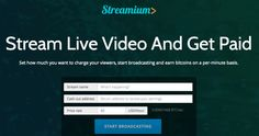 Streamium's new technology will challenge streaming services such as Livestream - at least that's what the Streamium team believes. By offeringstreaming in a decentralized and trustless manner, Streamium could be content producers way of getting …