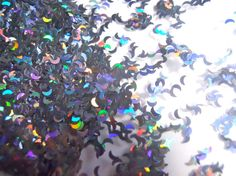 Solvent Resistant Glitter Holo Gray Moon Glitter 1 Ounce Glitter 1/8 for Nail Art and Nail Polish Frankening Supply