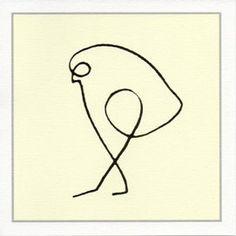 "Picasso- ""Bird of Prey""--potential ink?"