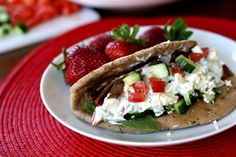 These gyros don't stray too far from the traditional, and they turned out to be fast, easy, and