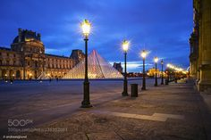 #Blue HourFranceLandmarkLeicaLightsLouvreParisPyramideSony A7 #dragrund (January 16 2016 at 07:27PM) The Louvre in Paris France is a historic monument and the most visited museum of the world receiving more than 9.2 million visitors only in 2014. The Louvre Palace was originally built in the late 12th century and was extended many times. The Louvre Museum opened during the time of the French Revolution in 1793. The project Grand Louvre was initiated by the former french president Mitterand…
