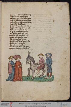 Cod. Pal. germ. 794: [Ulrich] Boner: Edelstein (Schwaben (Oberrhein? [Upper Rhine?]), um 1410/1420), Fol 35r