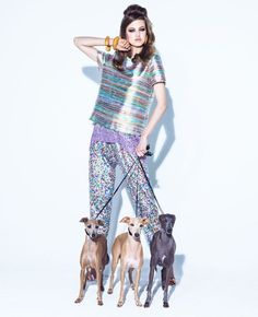 LINDSEY WIXSON & MANY DOGS FOR VOGUE BRAZIL AUGUST 2013