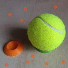 Support pour objet de forme sphérique 3D model, Ecreateur