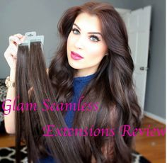 Check out this beauty and her Glam Seamless Experience using Tape-In Hair Extensions!