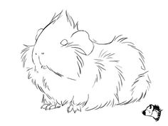 This image by GuineaPig Town is so cute! It would make a great embroidery pattern.