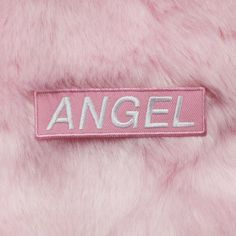 KOKO TUMBLR ANGEL PATCH ($3.99) ❤ liked on Polyvore featuring accessories