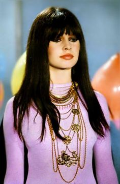 Brigitte Bardot with dark hair, 1960s