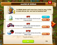 New riddle quests http://wp.me/p2Wzyb-5h #happytale