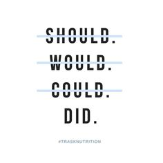 It is great to have goals but without action we won't achieve them. Take a step forward for you health today.  #trasknurtrition #takeaction