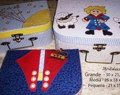 Trio de maletas Pequeno Príncipe