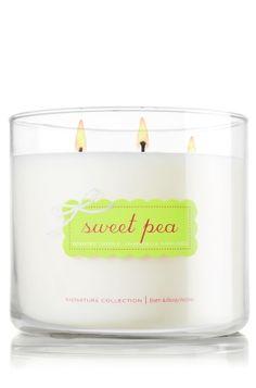 Bath & Body Works - Sweet Pea 3 Wick Candle, $20.00