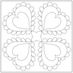 wedding ring block pattern | QNM WebExtra: English Wedding Ring Quilting Pattern