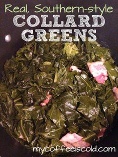 My Coffee is Cold. - Peace, Love and Collard Greens