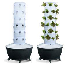 ערכת מגדל אירופונית ל36 צמחים , אירופוניקה , הידרופוניקה , גינון , הידרו , גידול אנכי