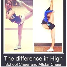 I hate to say it but as a coach that coaches high school, all star and college it does have some truth to it.  So high school cheerleaders sit in those splits... Good leg and bad leg.  One side gives you flexibility one way and one side gives it to you the other!