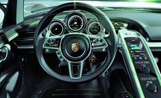 2014 porsche 918 spyder dashboard