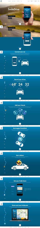 Volkswagen & Google's version of Nike Run, sorta... http://smiledrive.vw.com