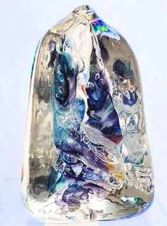 Ashes in Glass ~ Beautiful hand crafted memorial glass art from White Elk's Visions in Glass Cremation Ashes, Cremation Jewelry, Color Swirl, Beautiful Hands, Glass Art, Amethyst, Memories, Artwork, Artists