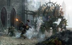 Warhammer 40k Chaos Dreadnought