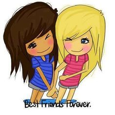Best friends stick together through the good and the bad.! No matter what the bad is.!!!! :) :) <3 <3 <3