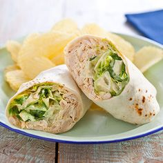 Chicken Caesar Salad Wraps From Cook's Country | June/July 2012