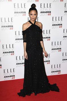на вечере Elle Style Awards 2017 в Лондоне