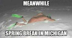 At least they're making the most out of their spring break