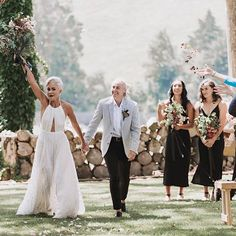 Walking into a new week like How good are those just married vibes? Marriage Celebrant, New Week, Bridesmaid Dresses, Wedding Dresses, Just Married, Walking, Couples, Celebrities, Instagram