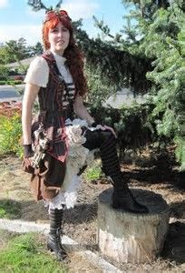 Image result for Steampunk Pirate Wench