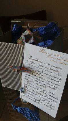 Kusudama origami feito com muito carinho para presentear um vovô especial!!