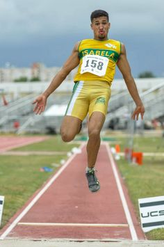 Long jump, track and field Puerto Rico