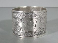 Tiffany & Co. Sterling Silver Napkin Ring Holder Rare