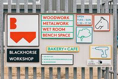 Blackhorse Workshop - includes workshop space for crafting, a coffee shop, classes, and a monthly makers market