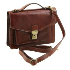 Eric - Tuscany Leather - Leather Crossbody Bag - Bags For Business