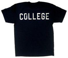 American Classics Men`s Animal House Distressed College T-Shirt $15.57