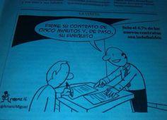#Contrato #Humor #Empleo #Trabajo #Ocupación #Paro #Desempleo #RRHH #Laboral #RecursosHumanos